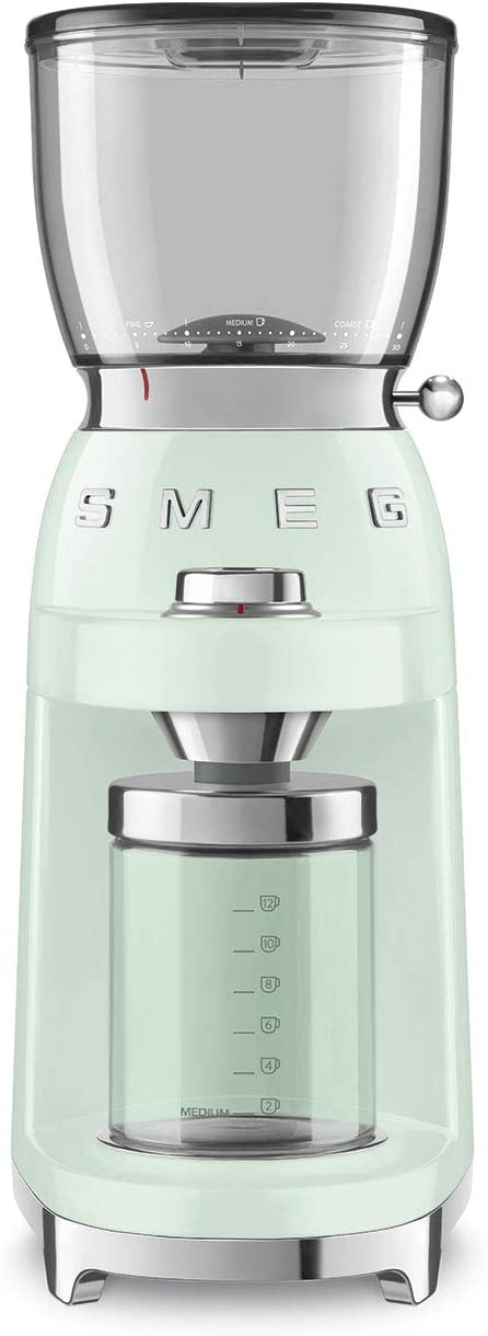 Smeg 50's Retro Style Aesthetic Grinder CGF01 shop Gr Pastel Coffee Special sale item
