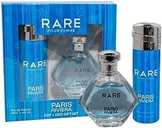 Paris Riviera Rare Eau De Toilette 100ml+ Deo 200ml Set for Men
