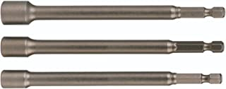 Wiha 70493 Nut Setter Magnetic 3 Piece Set 1/4, 5/16 & 3/8 x 12'' OAL on 1/4