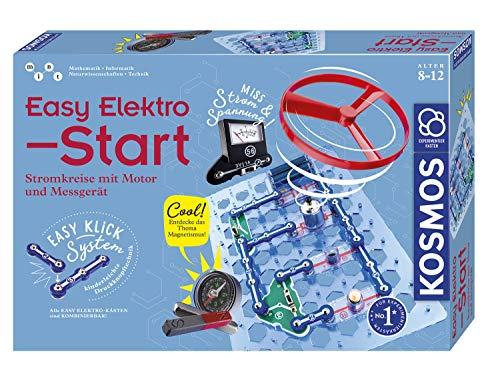 KOSMOS 620547 Easy Elektro - Start, Spannende Stromkreise mit Motor und Messgerät erforschen, Experimentierkasten zu Elektrotechnik