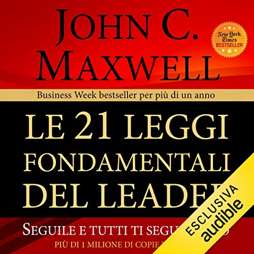 Le 21 leggi fondamentali del leader audiobook cover art