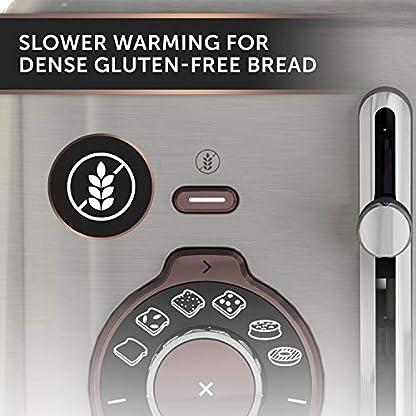 Breville-Temperature-Select-Elektrischer-Wasserkocher-17-l-3-kW-Fast-Boil-Smart-Digital-Controls-Gebuerstetes-Nickel-SilberGrau-VKT159-Select-Toaster-mit-4-Schlitzen