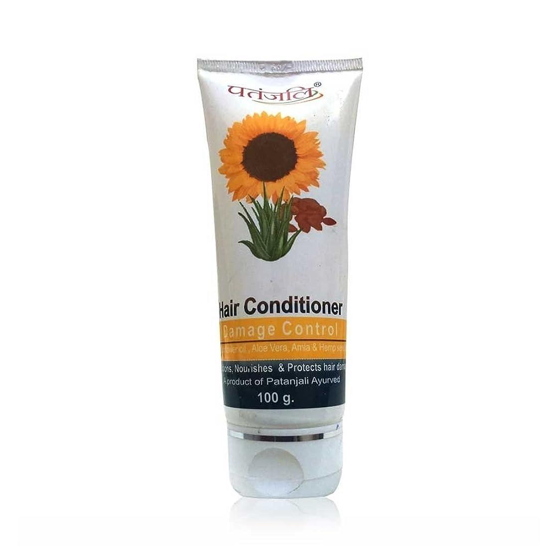 葉を拾うプラスチックさせるPATANJALI Hair Conditioner Damage Control 100 Gram by Patanjali