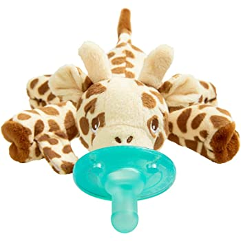 Snuggle Soother baby Giraffe Dummy Clip