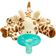 Philips Avent Soothie Snuggle Pacifier, 0-3 Months, Giraffe, SCF347/01