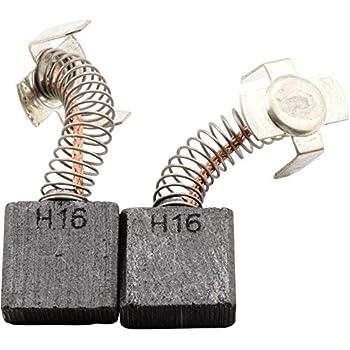 999038 2x Balais charbon charbon charbon Plumes Pour Hitachi 7x12x17//18,5mm