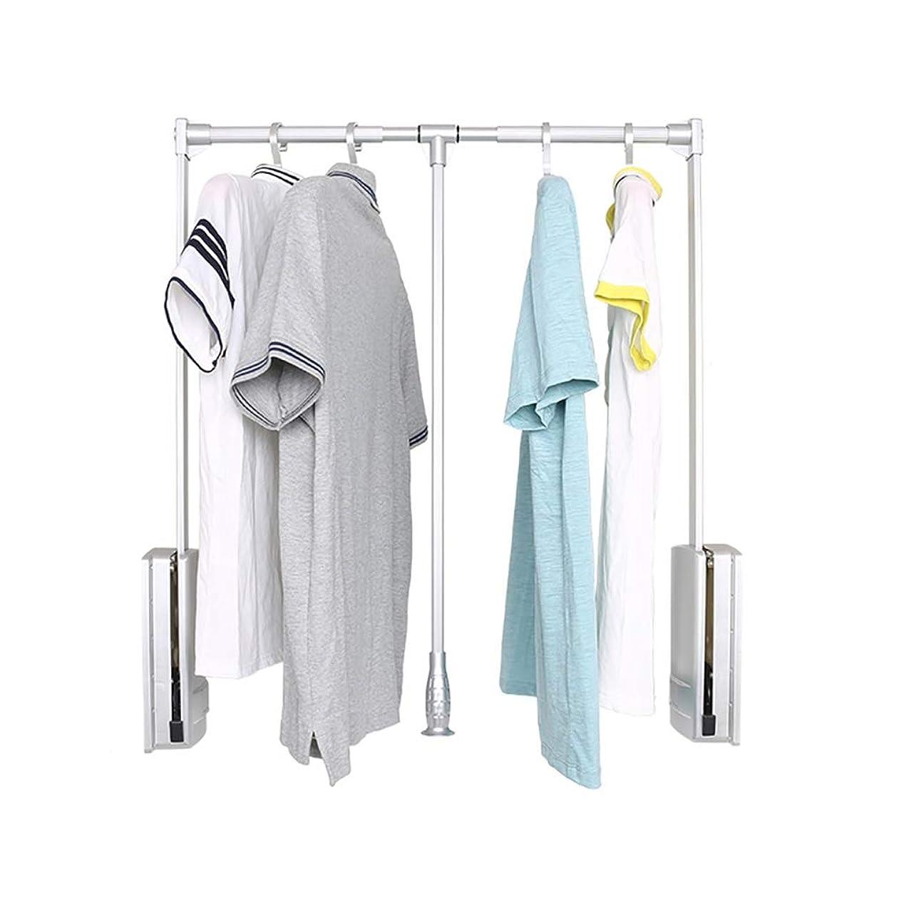 症候群取るに足らないアルコーブハンガーラック 洋服ハンガーを持ち上げるワードローブ、クローゼットの中に自動ハンガー、プルダウン調整幅のハンガーレール、ハンガー、伸縮ロッド,バッファの設計をダンピング (Size : 530-670mm)