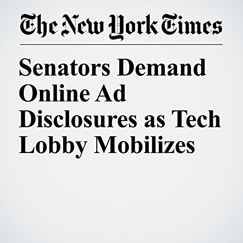Senators Demand Online Ad Disclosures as Tech Lobby Mobilizes copertina