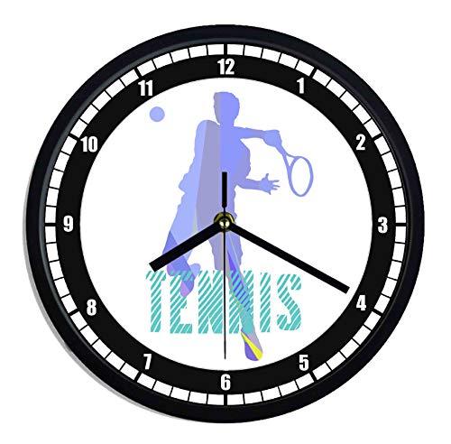 Orologio da parete in plastica Tennis style