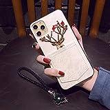 Iphone11 / 11のPro / 11Promaxケースについて ファッションのレース刺繍の保護裏表紙 カード……
