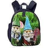Kinderrucksack Im Freien Gartenzwerg Spaß, Schulrucksack für Mädchen und Jungen Schultasche Schulranzen Teenager Backpack Daypack Freizeitrucksack Kinder Rucksack