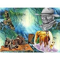 馬-1000ピースのジグソーパズル絵のパズル大人のための1000ピースの教育用木のおもちゃ子供子供向けゲーム75x50CM母の日ギフト