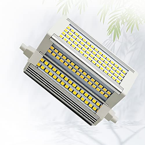 Bulbs Lampadina a LED R7S da 50 W, Bianco Freddo 6000 K 50 W (Sostituzione alogena 450-500 W) 118 mm (4,64 ''), proiettore a Doppia estremità dimmerabile CA 110-240 V a Doppia estremità
