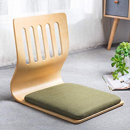 Sillas de juego, silla de sala de estar, silla japonesa, silla de respaldo, silla perezosa, sofá, juego de meditación, asientos de piso con respaldo