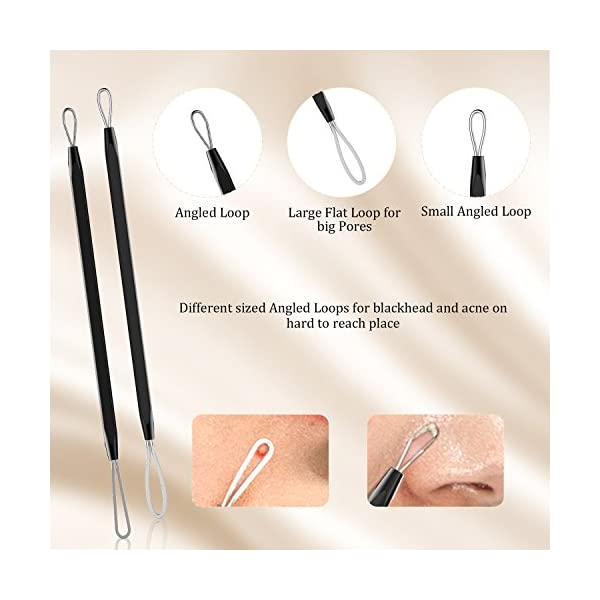 Acne treatment products BESTOPE Blackhead Remover Pimple Comedone Extractor Tool Best Acne Removal Kit –