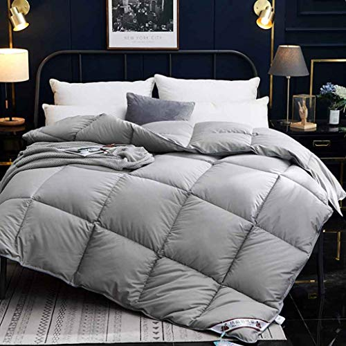 Edredón de plumón térmico con 100% algodón, Tela a Prueba de plumón Individual/Doble/King (Color : 6, Size : Duvet-180 * 220cm-2kg)