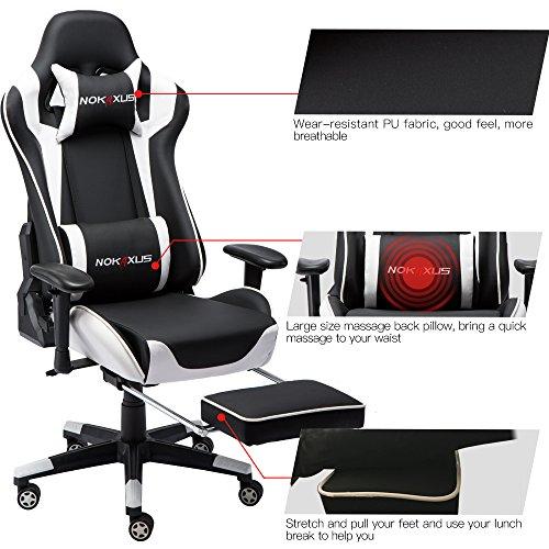 Nokaxus Ergonomic Gaming Chair