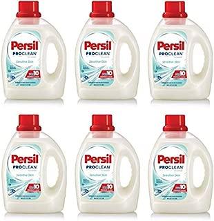 Persil ProClean Hypoallergenic Power-Liquid Sensitive Skin Laundry Detergent, 100 fl oz (Pack of 6)