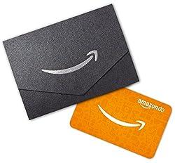 Amazon.de Geschenkkarte in Geschenkkuvert (Schwarz)