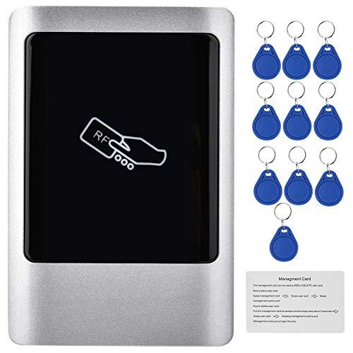 Qinlorgon RFID Zutrittskontrolle türöffner, im Freien wasserdichte, RFID Reader Tür Access Management Smart Card, für Outdoor Indoor(IC: 13,56 MHz)