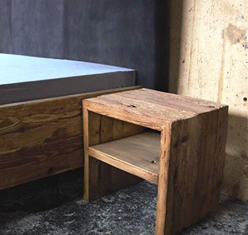 Holzfabrik Unikat Nachttisch Fichte-Altholz geölt