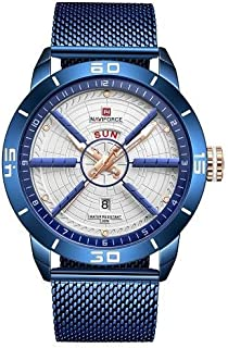 NF9155 BE-W-BE NaviForce watch- Unisex - Blue