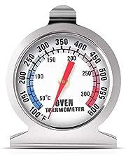 ميزان حرارة الفرن الفوري للقراءة في الفرن، ميزان حرارة للفرن 50-300 درجة مئوية/ 100-600 درجة فهرنهايت، لمطبخ الطهي المنزلي والخبز والشواء
