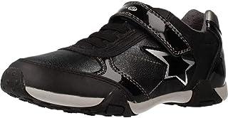 حذاء رياضي للسيدات من Geox مطبوع عليه Tale Low Profile Star مقاس أوروبي اللون أسود اللون / 10. 5، أسود oxford، 28 M EU للأ...