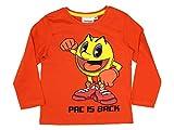Pac Man Jungen Langarmshirt orange Orange Gr. 8 Ja