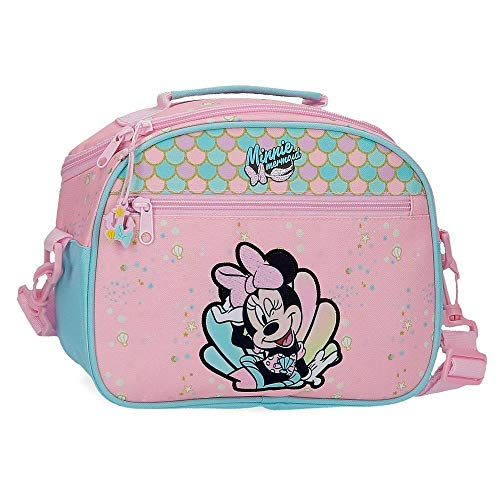Neceser Minnie Mermaid Adaptable con Bandolera