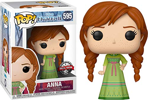 Funko – Pop! Disney: Frozen 2 – Anna – Vinyl Figur,ca. 9cm (UK Exclusive)
