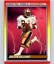 Football NFL 1990 Score #327 Dalton Hilliard Saints