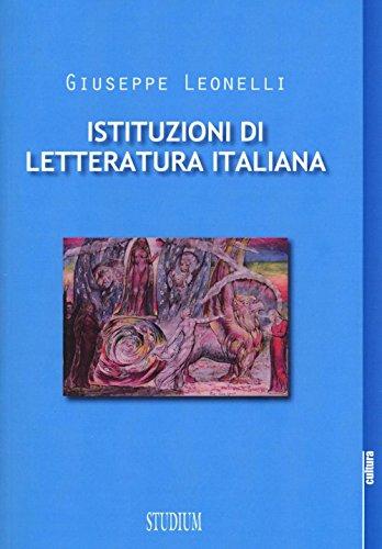 Istituzioni di letteratura italiana