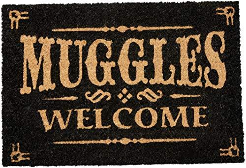 Pyramid International Felpudo Harry Potter Muggles Welcome, 60X40, Multicolor
