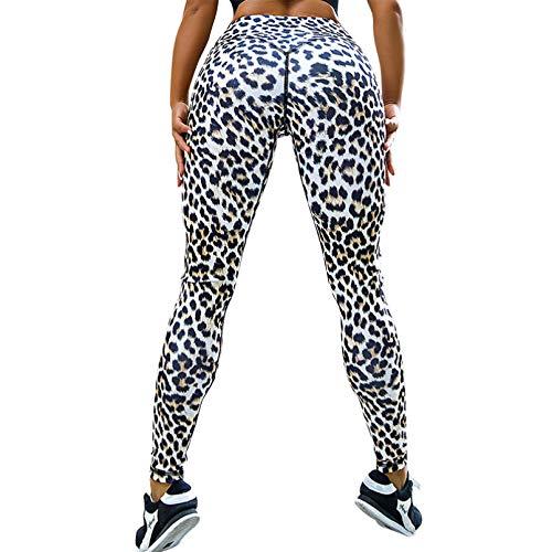 CJJCJJ Leopard Print Sport Legging Push Up Running Fitness Yoga Pants High Waisted Workout Leggings Women