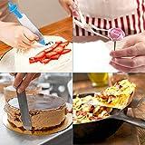 WisFox 103 Teiliges Tortenplatte Drehbar Tortenständer Kuchen Drehteller Cake Decorating Turntable mit Zuckerguss, SpritztüllenTipps-Set, und glatter, Gebäckwerkzeug für Anfänger und Profis - 6