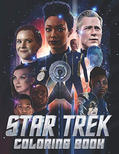 Star Trek Coloring Book: Star Trek Awesome Adults Coloring Books Awesome Exclusive Images