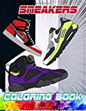 Sneakers Coloring Book: Gifts for Adults and Kids. Color the best & classic sneakers out there.