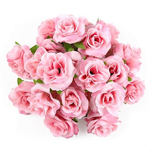 Kesote 50x Künstliche Blumenköpfe...