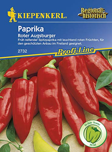 Paprikasamen - Paprika Roter Augsburger von Kiepenkerl