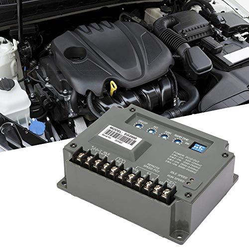 LONGWDS Controlador de Velocidad Controlador de Velocidad, EG2000 Universal Electric Generator Gobernador Controlador de Velocidad Panel 10-30VDC