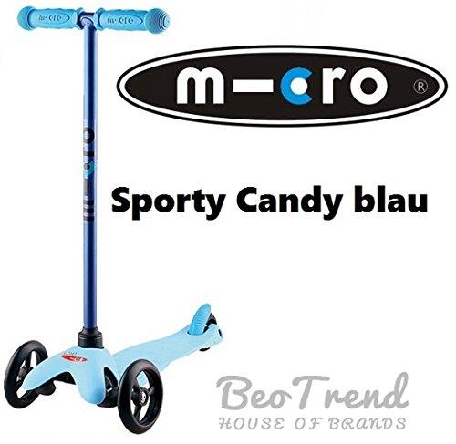 Mini Micro Candy blue sporty Neu