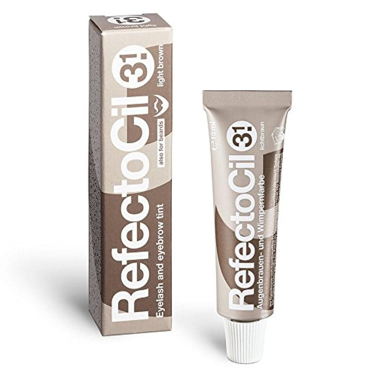 参照する枯渇ボランティア睫毛はRefectocil号3.1 M.クリア15mlの色素。
