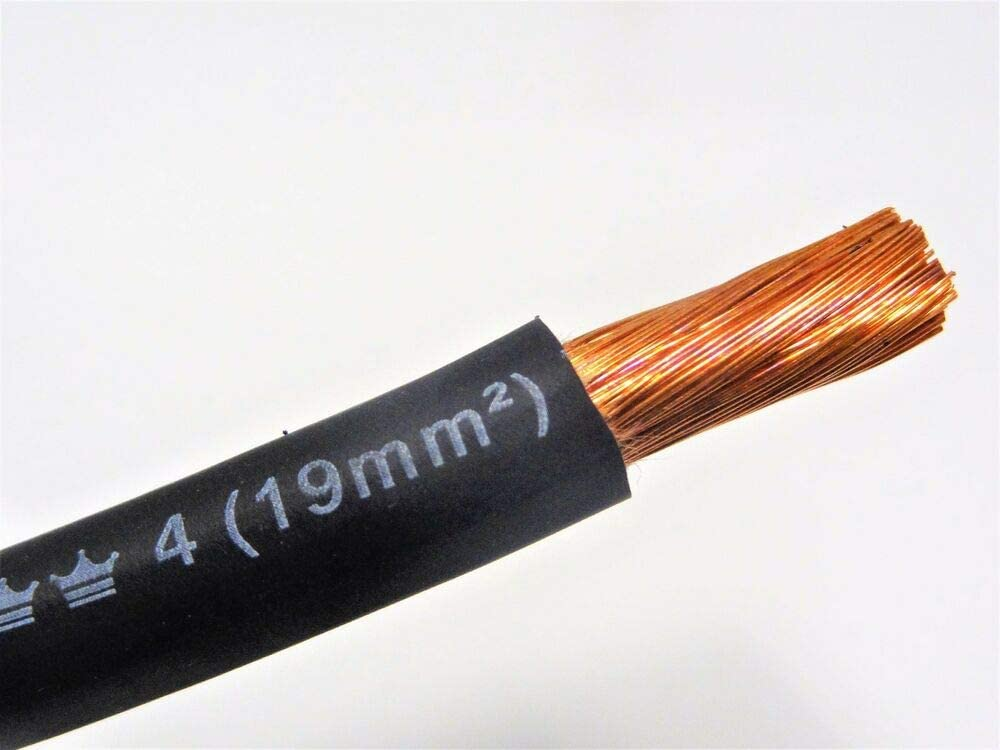 WELDING CABLE BLACK Ranking TOP3 USA MADE BATTERY Max 64% OFF FT EXCELEN LEADS COPPER 60'