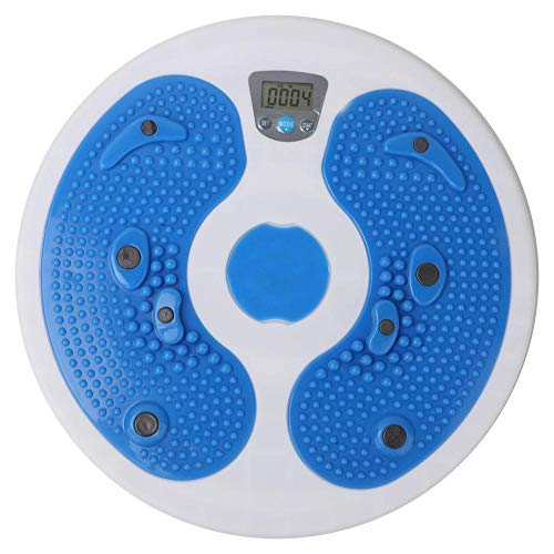 VGEBY1 Twisting Waist Disc, Elektronische Fitness Disc, Twister Platte, Taille-Drehscheibe Hüfttrainer mit Kalorienzahl für Fitness, Gewichtsverlust, Bodybuilding