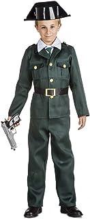 Kimokawaii Disfraz Guardia Civil Talla 5-6 AÑOS TAMAÑO