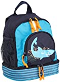[page_title]-LÄSSIG Kinderrucksack Kindergartentasche mit Brustgurt/Mini Backpack Shark Ocean