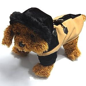 Illusion d'hiver Pet vêtements Gilet Chaud Manteau pour chien