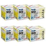 ニッシン フィジオクリーン キラリ錠剤 30錠入×6箱 入れ歯洗浄剤