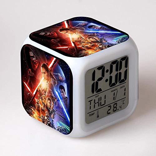 FCH-GY Reloj Despertador Star Wars Colorful Mood Quad Quad